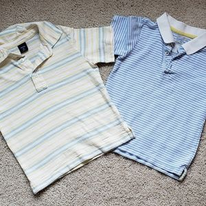 PAIR of polo shirts